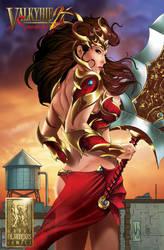 Valkyrie Saviors 2 Kickstarter ending soon! by Mountolympuscomics