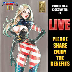 Patriotika 3 KICKSTARTER IS LIVE! by Mountolympuscomics