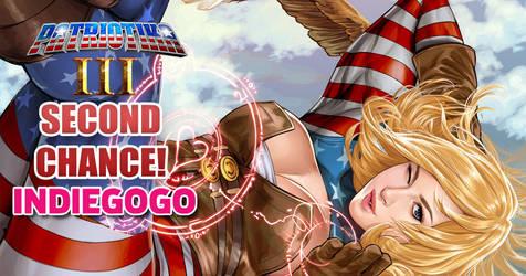 Patriotika 3 on Indiegogo! by Mountolympuscomics