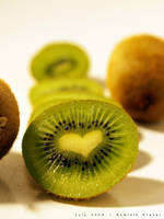love kiwi - kiwi's heart by dkraner