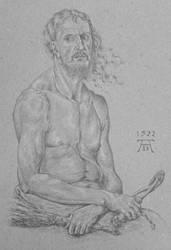 Man of Sorrows by Johejua