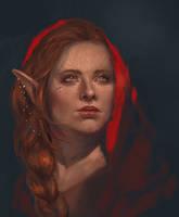 Inquisitor Lavellan by perditionxroad