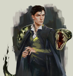 Tom Riddle by perditionxroad