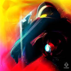 Ultraman by vivalanat