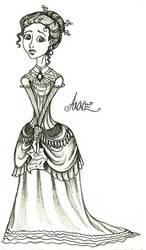 Anne Egerman sketch by AnneCat