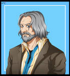 Anime Style - Hank (Detroit: Become Human) by AideeMargarita