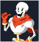 Anime Style . Papyrus by AideeMargarita