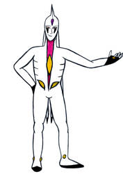 Disciple Zoalord Israfel (second full-body) by Black-Silverstar