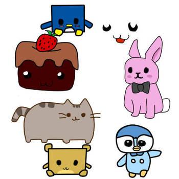 More random kawaiiness by Sakuraofchaos