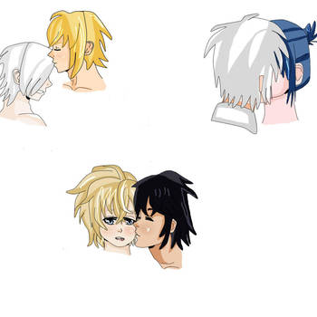Kaibasa, Nezushi and Mikayuu by Sakuraofchaos