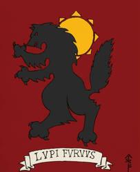 LUPI FURVUS (colorized) by Woad-Warrior