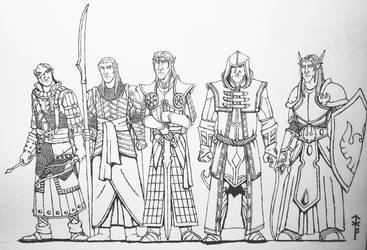 High Elves  by Woad-Warrior