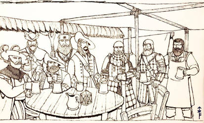 The Baron's Black Wolves  by Woad-Warrior
