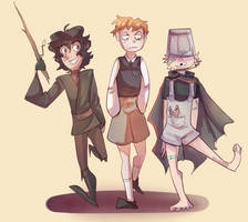 First Order kiddies by Flaming-Starfish
