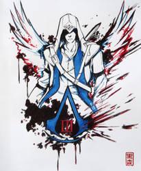 Assassin's Creed III - Connor Kenway by KuromoriRei