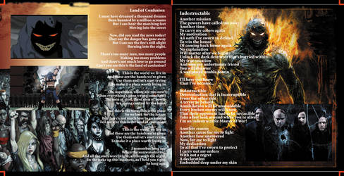 Disturbed CD Inside Pamphlet: CTC projects 09' by ChroniclerofChaos