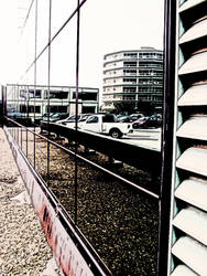 Parking Lot Looking Glass by semperfried76