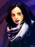 Jessica Jones by feelthesky