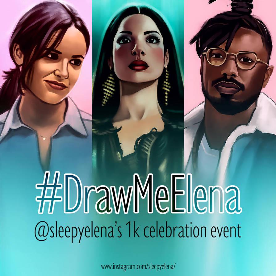 Draw Me Elena Test 1 by feelthesky