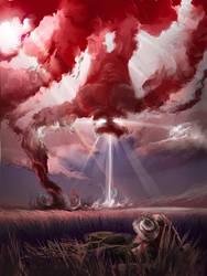 commission: sky devil by aerroscape