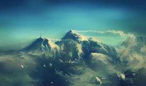 windy ridge by aerroscape