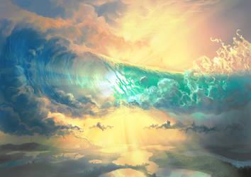 Sky Breaker by aerroscape