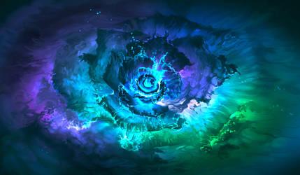 water flower by aerroscape