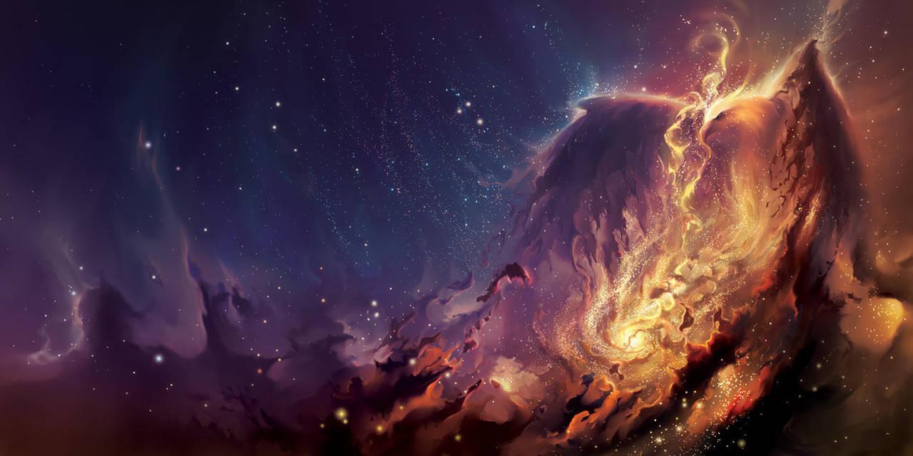 Phoenix Nebula by aerroscape