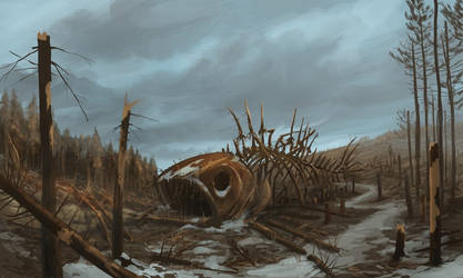 Deathforestation by aerroscape