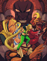 Street Fighter V by brachypelman