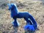 Blue Moon Unicorn by LabelMeInsomniac