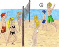 SSBM Volleyball by Llyrist