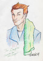 Ford Prefect in Crayon by napalmnacey