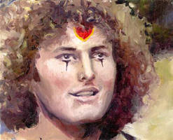 Victor Garber in Godspell by napalmnacey