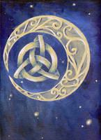 Celtic Moon by xlizx