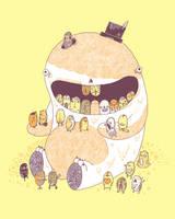 New teeth by randyotter