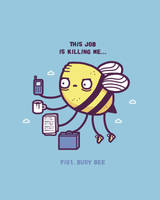 Busy bee by randyotter