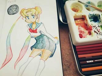 SailorMoon School Uniform  by DyrNotion