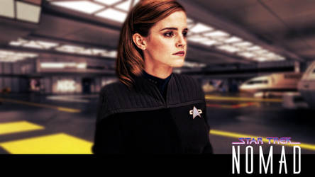 Star Trek: Nomad - Commander Brooke Niamh by jonbromle1