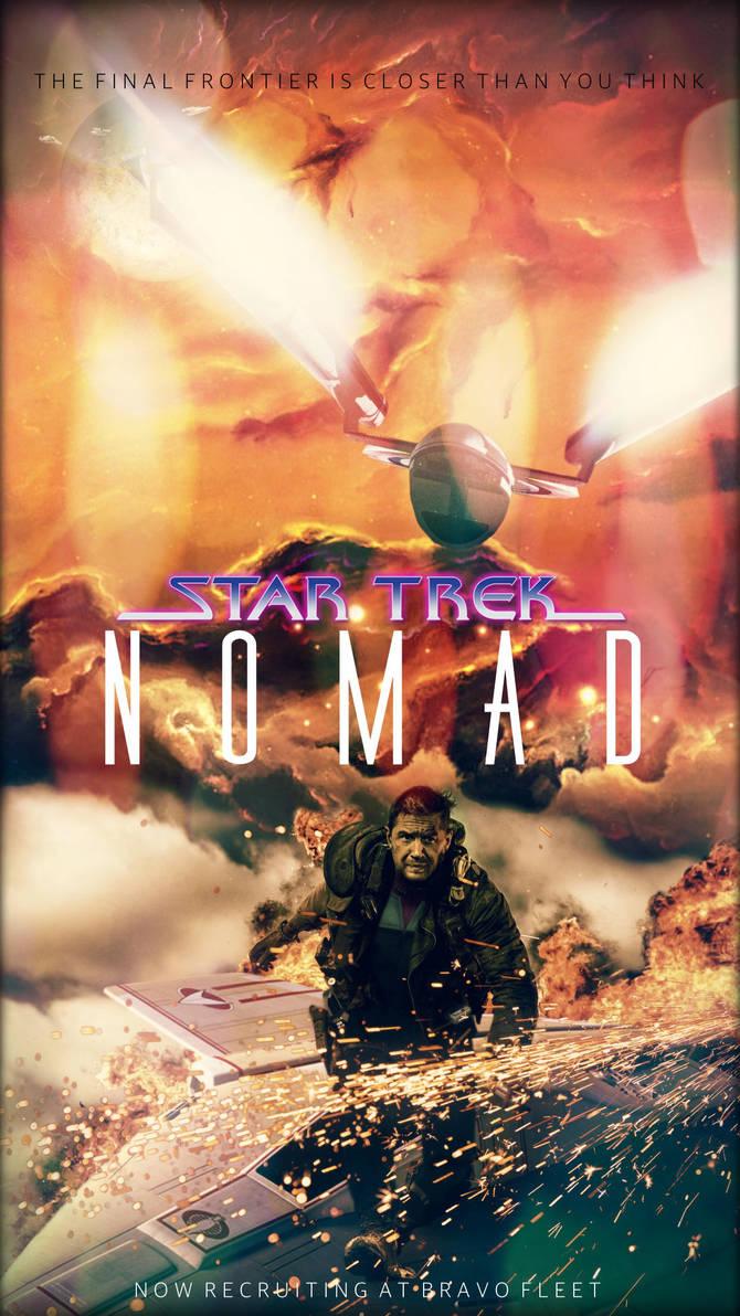 Star Trek: Nomad Movie Poster by jonbromle1