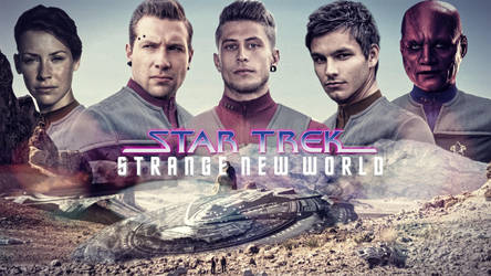 Star Trek: Strange New World by jonbromle1