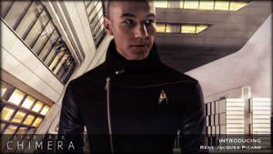 Star Trek: Chimera - Lt. Cdr  Rene-Jacques Picard by jonbromle1