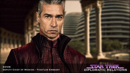 Star Trek: Diplomatic Relations - Sovik by jonbromle1