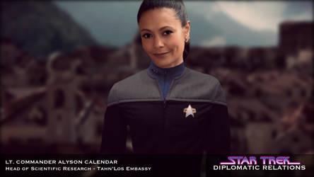 ST: Diplomatic Relations - Lt. Commander Calendar by jonbromle1