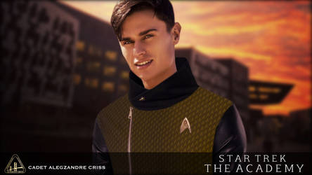 ST: The Academy - Vol.4: Cadet Alegzandre Criss by jonbromle1