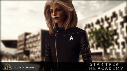 ST: The Academy - Vol.4: Lieutenant M'Genn by jonbromle1
