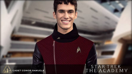 ST: The Academy - Vol.4: Cadet Conor Samuels by jonbromle1