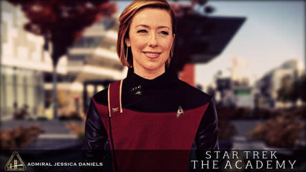 ST: The Academy - Vol.4 - Admiral Jessica Daniels by jonbromle1