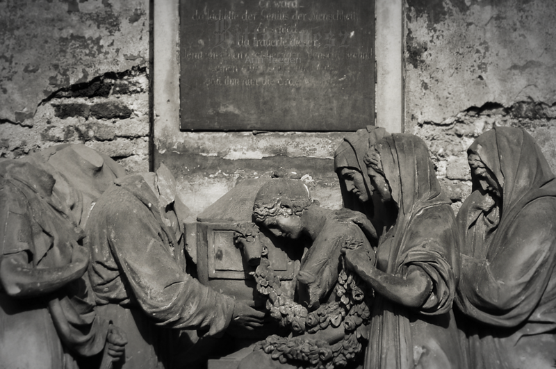 New Jewish Cemetery I by Bittersuesz