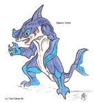Ranger Revamp: Slippery Shark by kaijulord21